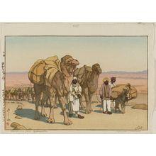 Yoshida Hiroshi: Caravan from Afghanistan (Afuganisutan no kyaraban) - Museum of Fine Arts