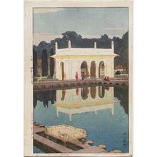 吉田博: Shalimar Garden, Lahore (Sharamaru Gaaden) - ボストン美術館