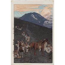 Yoshida Hiroshi: Umagaeshi (Umagaeshi), from the series Ten Views of Mount Fuji (Fuji jukkei) - Museum of Fine Arts