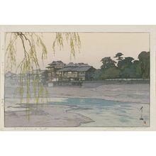 Yoshida Hiroshi: Kamogawa [Kamo River] in Kyoto (Kamogawa) - Museum of Fine Arts