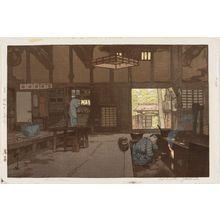 吉田博: Farm House (Nôka) - ボストン美術館