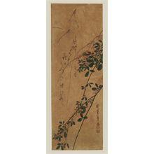Utagawa Hiroshige: Butterflies and Bush Clover - Museum of Fine Arts