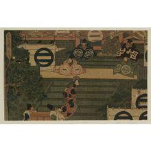 歌川広重: Act I (Daijo), from the series The Storehouse of Loyal Retainers (Chûshingura) - ボストン美術館