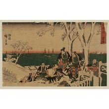 Utagawa Hiroshige: The Incense-offering Scene (Shôkô ba), from the series The Storehouse of Loyal Retainers (Chûshingura) - Museum of Fine Arts