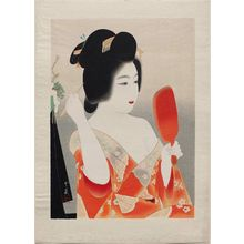 Dômoto Insho: Dressing the Hair for New Year's Day - Museum of Fine Arts