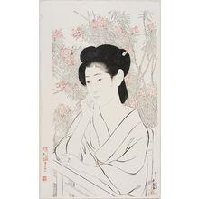 Hashiguchi Goyo: Onsen-jiku (or yado) - Museum of Fine Arts