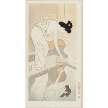 Hashiguchi Goyo: Hot spring - Museum of Fine Arts