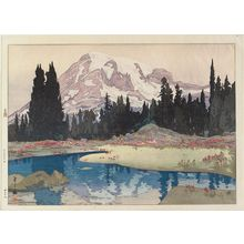 Yoshida Hiroshi: Mount Rainier, from the series: The United States - Museum of Fine Arts