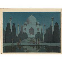 Yoshida Hiroshi: Taji Maharu no Yoru, dai-roku (Night in Taj Mahal, No. 6) - Museum of Fine Arts