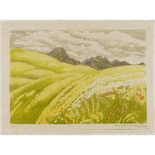 織田一磨: Green Hillside and Mountain - ボストン美術館