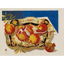 Sekino Jun'ichiro: Ripe Pomegranates - Museum of Fine Arts