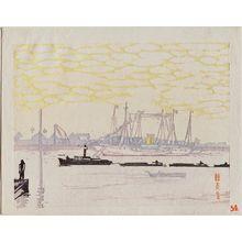 Fujimori Shizuo: Tsukishima - ボストン美術館