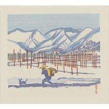 Maekawa Senpan: By the Lake in Snow (Kohan no Yuki) - Museum of Fine Arts