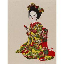 Maekawa Senpan: Maiko - Museum of Fine Arts
