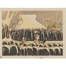 Maekawa Senpan: Urasa Shibu. A winter festival in Echigo - Museum of Fine Arts