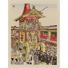 Maekawa Senpan: Gion Festival. Shachihoko (dolphin). - Museum of Fine Arts