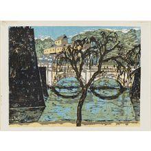 Onchi Koshiro: Double Bridge by the Palace - Museum of Fine Arts