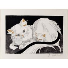 Sekino Jun'ichiro: White Cat and Kitten - Museum of Fine Arts