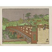 Sekino Jun'ichiro: The Bridge Benkei-bashi - Museum of Fine Arts