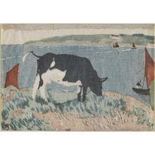 山本鼎: Cow - ボストン美術館