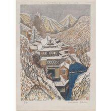 Sekino Jun'ichiro: Onsen in the Snow (Fukushima) - Museum of Fine Arts