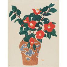 Koizumi Kishio: Camellia - Museum of Fine Arts