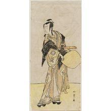 Katsukawa Shunsho: Actor Ichikawa Danjuro as Honzo - Museum of Fine Arts