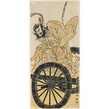 Katsukawa Shunsho: Actor Nakajima Mihoemon II as Fujiwara Shihei - Museum of Fine Arts