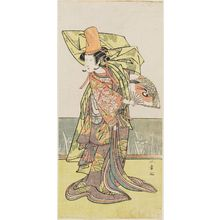 Katsukawa Shunsho: Actor Nakamura Tomijûrô as Shirabyoshi Ukikusa - Museum of Fine Arts