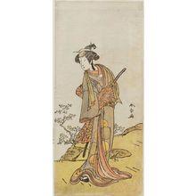 Katsukawa Shunsho: Actor Nakamura Rikô as Katsushika no Oju - Museum of Fine Arts