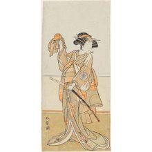 Katsukawa Shunsho: Actor Nakamura Noshio as Tamanami - Museum of Fine Arts