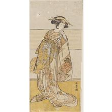 Katsukawa Shunsho: Actor Segawa Kikunojô III as Tagasode - Museum of Fine Arts