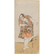 Katsukawa Shunsho: Actor Ôtani Hiroemon as Otokodate Kurokumo Bukei - Museum of Fine Arts