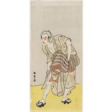 Katsukawa Shunsho: Actor Mioemon as Kanpera Monbee - Museum of Fine Arts