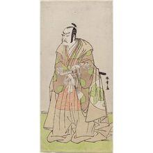 Katsukawa Shunsho: Actor Nakajima Kanzaemon III as Kô no Moronao - Museum of Fine Arts