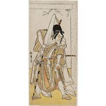 Katsukawa Shunsho: Actor Ichikawa Ebizô as Matsuômaru - Museum of Fine Arts