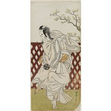 Katsukawa Shunsho: Actor Nakamura Nakazo as Sakon Gitsune - Museum of Fine Arts