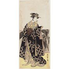 Katsukawa Shunsho: Actor Bandô Tomisaburo as Teru-hime - Museum of Fine Arts