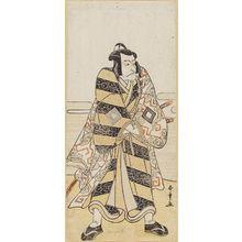 Katsukawa Shunsho: Actor Ichikawa Danjuro V as Fuwa Banzaemon - Museum of Fine Arts