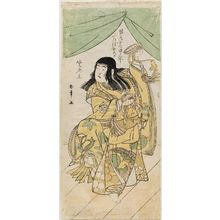 Katsukawa Shunsho: Actor Ichimura Uzaemon as a boy - Museum of Fine Arts