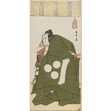 Katsukawa Shunsho: Actors Onoe Matsusuke as Usui no Sadamitsu in Shibaraku (L); Nakamura Nakazo I as Watanabe no Tsuna - Museum of Fine Arts