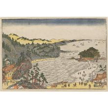 Utagawa Toyoharu: The Bay of Enoshima - Museum of Fine Arts