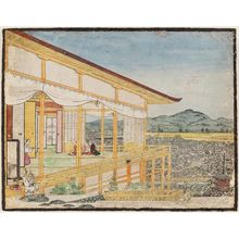 Maruyama Ôkyo: A Room at Maruyama - Museum of Fine Arts