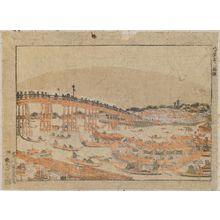 Utagawa Toyoharu: Ryogoku, Hakkaseki - Museum of Fine Arts