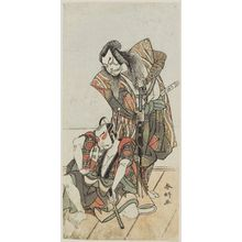 Katsukawa Shunko: Two actors - Museum of Fine Arts