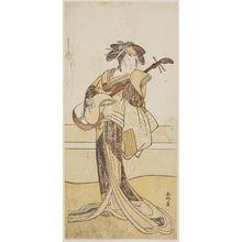 Katsukawa Shunko: Actor Yamashita Mangiku I as Osan - Museum of Fine Arts