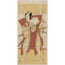Katsukawa Shunko: Actor Ichikawa Danjuro V as Otokonosuke - Museum of Fine Arts