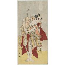 勝川春好: Actor Bandô Mitsugorô I - ボストン美術館