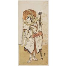 Katsukawa Shunko: Actor Nakamura Nakazô I as Endô Musha Moritô - Museum of Fine Arts