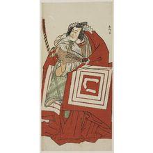 Katsukawa Shunko: Actor Ichikawa Monnosuke as Sogo Goro - Museum of Fine Arts